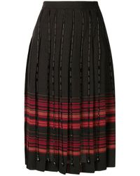 Marco De Vincenzo - Multicolor Pleated Skirt - Lyst
