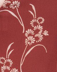 Cinq À Sept Red Whitley Silk Top