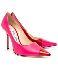 Jimmy Choo Love In Hot Pink And Red