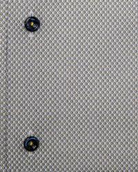 Eton of Sweden Gray Micro Floral Print Dress Shirt for men