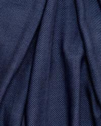 Eton of Sweden Blue Navy Herringbone Scarf for men