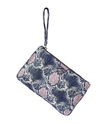Kelly Wynne Blue Risky Biz Wallet Navy