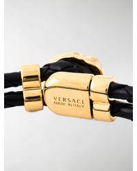 Versace Black Medusa Bracelet