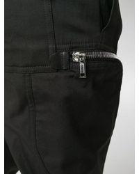 Rick Owens Black Track Pants for men