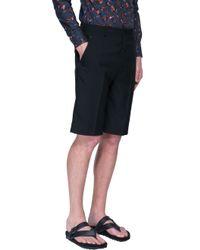Lanvin - Black Shorts for Men - Lyst