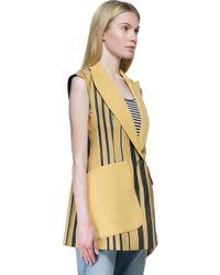 Sportmax - Multicolor Refolo-stripes Gilet - Lyst