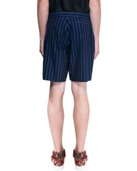Ports 1961 - Blue Shorts for Men - Lyst