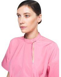 Ports 1961 - Pink Short Sleeves Dress - Lyst