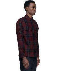 Alexander McQueen - Multicolor Tartan Shirt for Men - Lyst