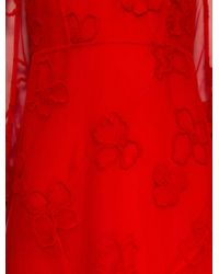 Simone Rocha - Embroidered Tulle Dress - Lyst