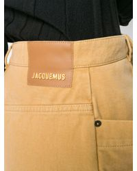 Minigonna denim di Jacquemus in Multicolor