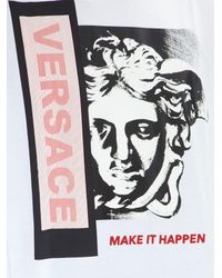 Versace White Make It Happen T-shirt for men