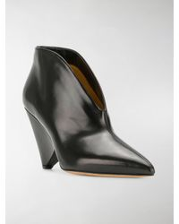 Isabel Marant - Black Adenn Ankle Boots - Lyst