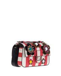 Fendi | Black Micro 'double Baguette' Crossbody Bag | Lyst