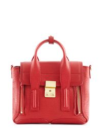 3.1 Phillip Lim | Red Pashli Mini Satchel | Lyst