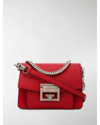 a7316a752086 Givenchy Gv3 Nano Shoulder Bag in Red - Lyst