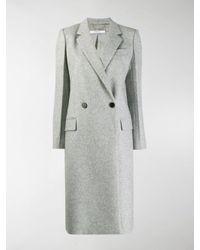Cappotto doppiopetto di Givenchy in Gray