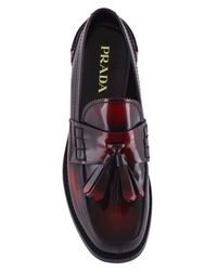Prada - Multicolor Leather Loafers for Men - Lyst