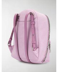 Stella McCartney - Multicolor Mini Falabella Backpack - Lyst