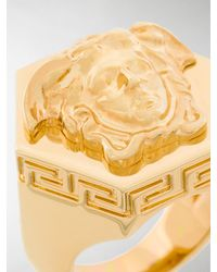 Versace - Multicolor Medusa Ring for Men - Lyst