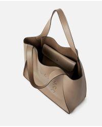 Stella McCartney Natural Tote Bag Stella Logo