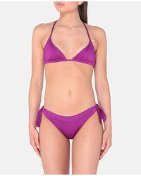 Slip Bikini Viola di Stella McCartney in Purple