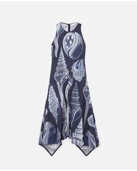 Stella McCartney アナベル シルク ドレス Blue
