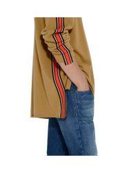 Stella McCartney | Natural Camel Ribbon Trim Knit Jumper for Men | Lyst