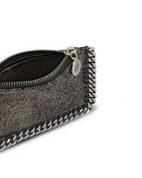 Stella McCartney - Multicolor Ruthenium Falabella Shiny Dotted Chamois Purse - Lyst