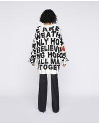 "Stella McCartney Black Pullover ""We are the weather"" WATW Capsule-Kollektion"