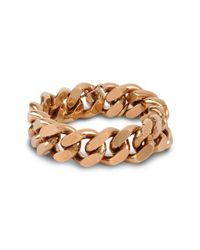 Stella McCartney - Metallic Chain Bracelet - Lyst