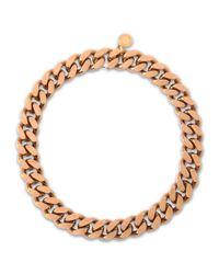 Stella McCartney - Metallic Chain Necklace - Lyst