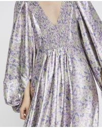 Stella McCartney Floral Dress In Multicolor Lilac