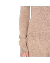 Stella McCartney | Natural Beige Knit Turtleneck Jumper | Lyst