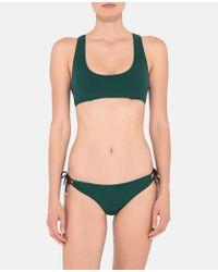 Stella McCartney - Botanical Green Bikini Bottoms - Lyst