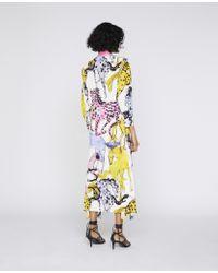 Vestito Kaela con Stampa Cavalli di Stella McCartney in Multicolor