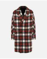 Stella McCartney Osborn Red Check Coat for men