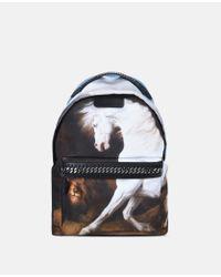 Stella McCartney - Black Stubbs Falabella Go Backpack - Lyst