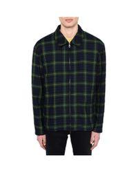 Stella McCartney Green Tartan Oak Jacket for men