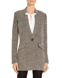 St. John Multicolor Sale Modern Punto Knit Jacket