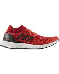 Adidas Red Ultra Boost Uncaged Olympic Edition for men