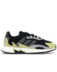 Adidas Black Tresc Run Mossy Green for men