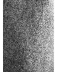 & Other Stories Gray Chunky Turtleneck Knit