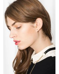 & Other Stories | Metallic Stud Earrings | Lyst