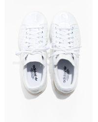 & Other Stories White Adidas Stan Smith W