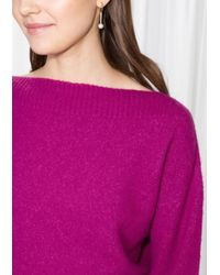 & Other Stories Multicolor Boxy Knit Sweater