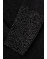 Street One Black Pullover mit langem Schnitt