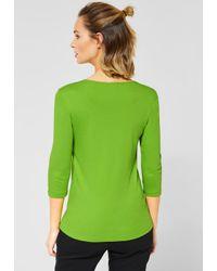 Street One Green Basic Shirt Pania