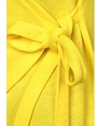 Street One Yellow Shirtjacke in Wickel-Optik