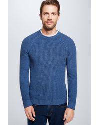 Strellson Strickpullover Rocco in Blue für Herren